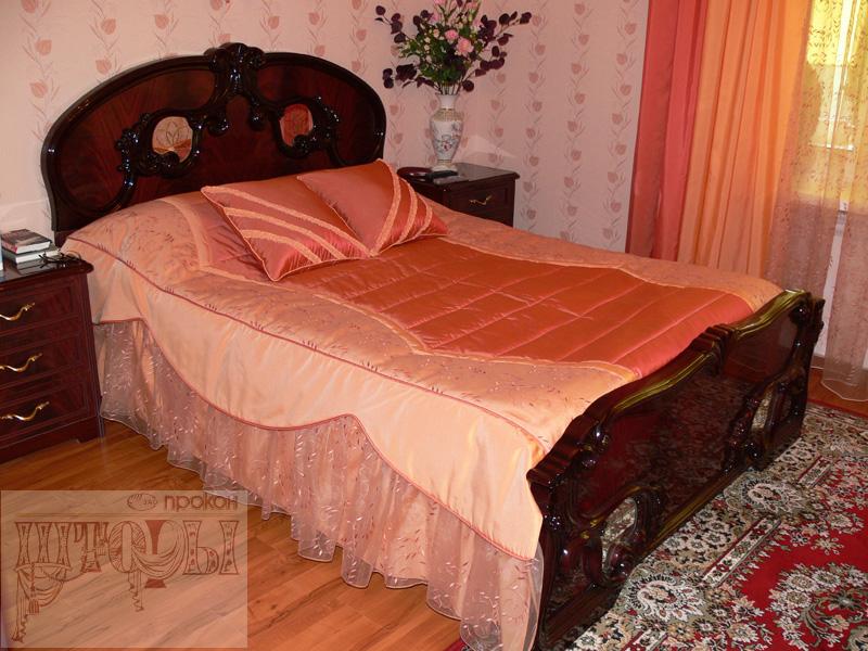 Как сшить стеганное покрывало на кровать своими